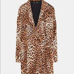 Zara Leopard Print Romper